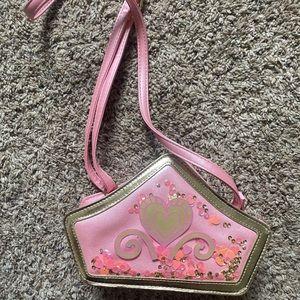Disney girls kids pink purse crossbody